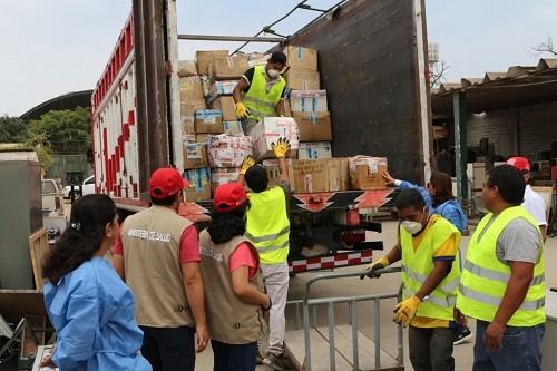 Minsa: destruyen 15 toneladas de medicamentos ilegales incautados en operativos