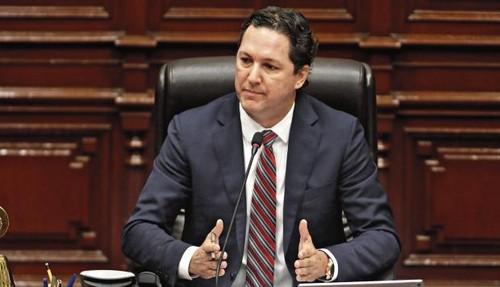 Presidente del Congreso de la República Daniel Salaverry deja la bancada de Fuerza Popular