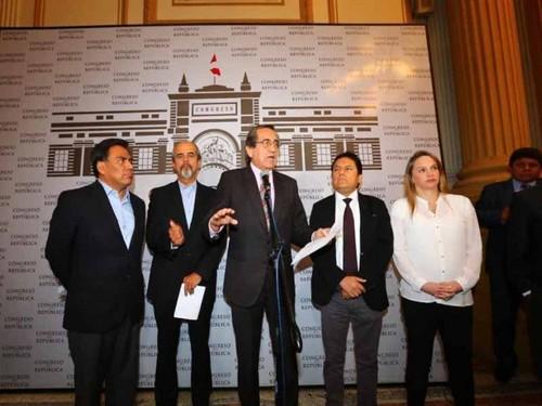 Censura a Daniel Salaverry: APRA deja sola a la bancada de Fuerza Popular