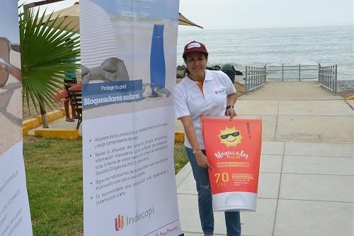 El Indecopi presenta campaña 'Que el verano no te haga daño'