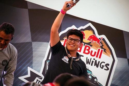 Piero Solar fue el más rápido y ganó la final mundial del Red Bull Desert Wings University Challenge