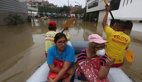 San Juan de Lurigancho: familias afectadas por aniego serán indeminizadas por Sedapal