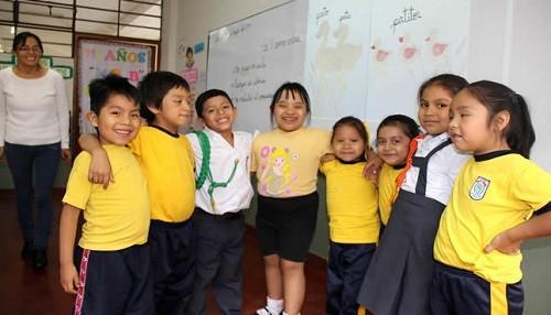 Perú: colegios deben destinar dos vacantes por aula para estudiantes con discapacidad