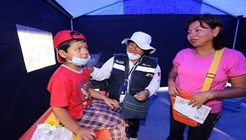 San Juan de Lurigancho: se realizó más de 300 atenciones médicas en zona afectada por aniego