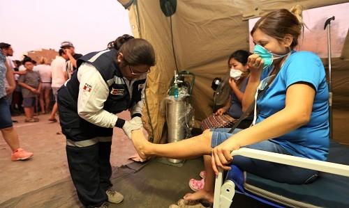 San Juan de Lurigancho: Brigadas de salud brindan más de 500 atenciones médicas en zona afectada por aniego