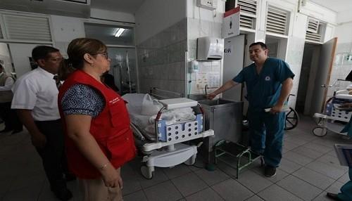 Se dispone medidas de contingencia en Hospital de San Juan de Lurigancho