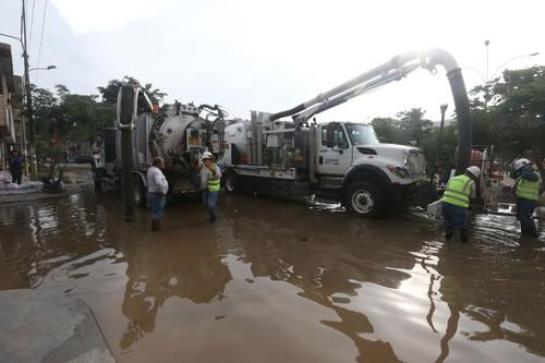 San Juan de Lurigancho: suministro de agua potable podría restablecerse el miércoles 23 de enero