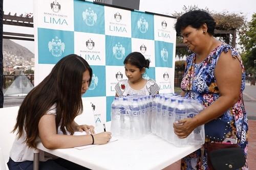 La campaña 'Juntos por San Juan de Lurigancho' sigue en marcha