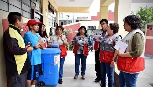 Se supervisó condiciones de colegios en San Juan de Lurigancho