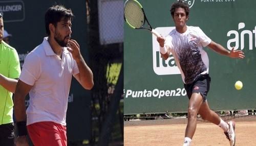 Los peruanos Varillas y Galdos obtienen victorias en el Challenger ATP 80 'Punta Open 2019'