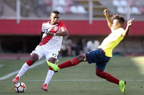 Perú no pudo ante la escuadra de Ecuador en el Sudamericano Sub 20