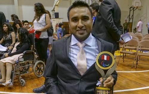 El peruano Jorge Arcela es elegido como Mejor Para Deportista de 2018 por el ANPPER
