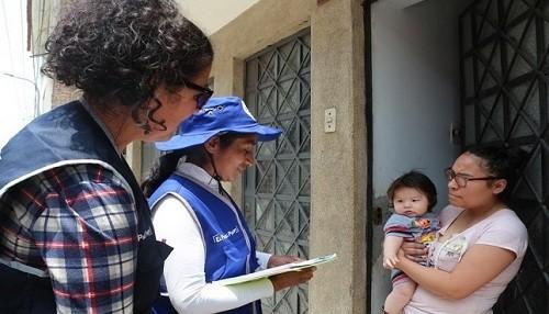 Municipios limeños deberán realizar visitas domiciliarias para prevenir y reducir anemia infantil