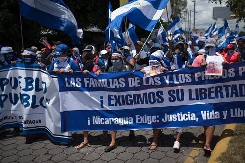 El número de presos políticos en Nicaragua sube a 767