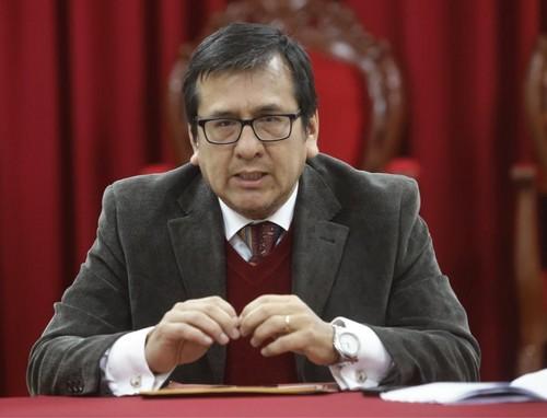 Poder Judicial suspende por seis meses a juez Marco Cerna por audio con exmagistrado supremo César Hinostroza Pariachi