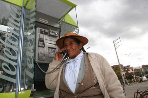 Perú: empresas que retiren teléfonos públicos en zonas rurales deberán sustituir el servicio por otro de voz móvil