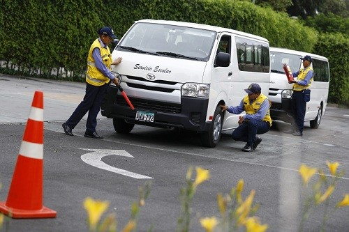 Empiezan en Lima las inspecciones a vehículos de movilidad escolar