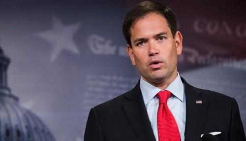 Senador estadounidense Marco Rubio llega a Colombia mientras llega más ayuda para Venezuela