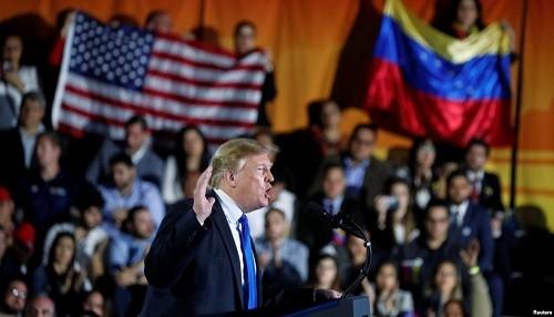 Donald Trump está explotando la crisis de Venezuela para ganar las elecciones presidenciales de 2020