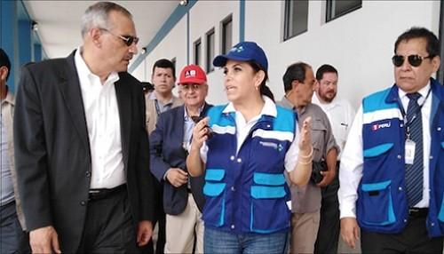 Representante del presidente Juan Guaidó y embajador de Estados Unidos en Perú visitan el CEBAF de Tumbes