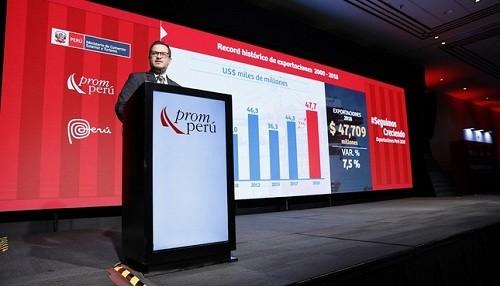 Exportaciones peruanas logran cifras récord durante el 2018