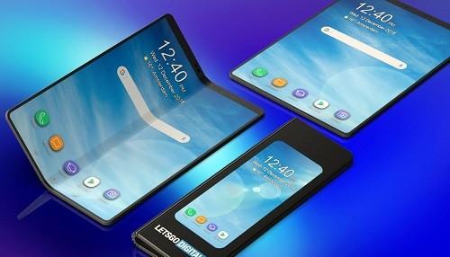 Samsung presentó su teléfono plegable Galaxy Fold