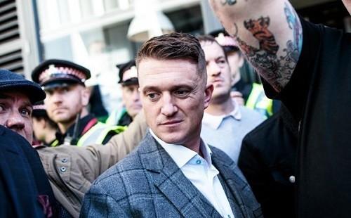 Facebook borró la página del activista de extrema derecha Tommy Robinson