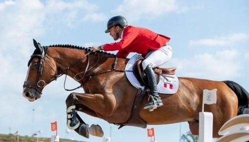 El peruano Alonso Valdez clasifica dos caballos a Juegos Panamericanos Lima 2019