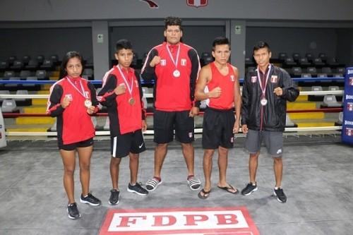 Selección de Boxeo peruana logra ocho medallas en República Dominicana