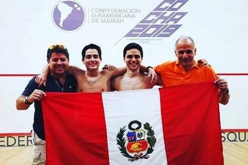 Perú logra medalla de oro en Sudamericano Juvenil de Squash 2019