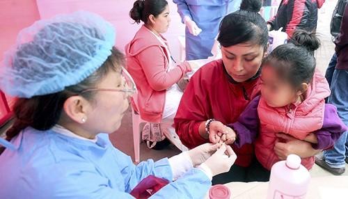 Hospital Santa Rosa realizará de manera permanente despistaje de anemia a niños menores de 5 años