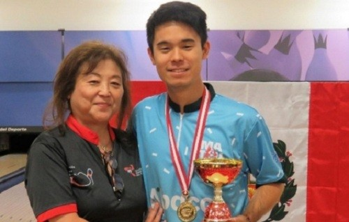 El peruano Alejandro Ishikawa logra título del Nacional Juvenil de Bowling 2019