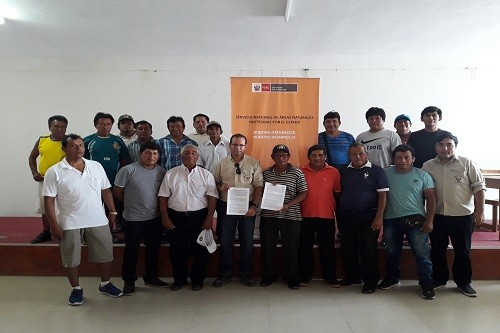 SERNANP y pescadores artesanales de Piura suscriben primer acuerdo de conservación de la Zona Reservada Illescas