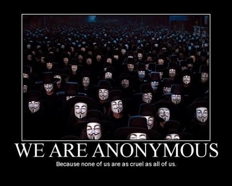 Opine: ¿Anonymous tiene poder para iniciar una guerra virtual?
