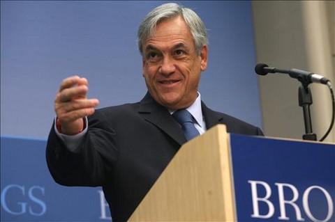 Piñera: 'Tenemos disposición al diálogo pero también un compromiso con la mantención del orden'
