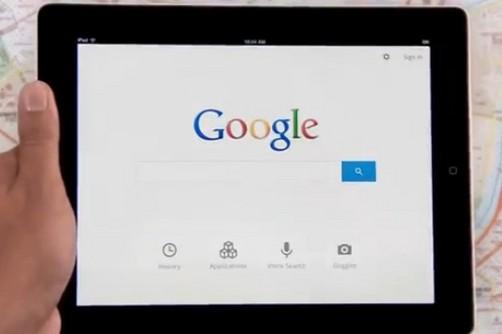 Google presenta nueva aplicación de búsquedas para iPad