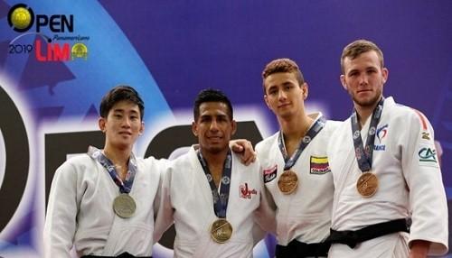 Juan Postigos logra el oro en Open Panamericano Lima 2019 de Judo