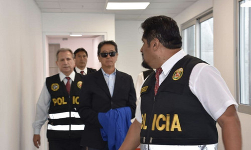Jaime Yoshiyama ya se encuentra recluido en el penal Jorge Castro Castro