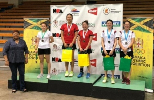 Bádminton peruano suma medallas en el V Jamaica International 2019