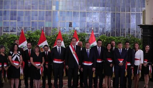 Seis nuevas mujeres se inscorporan al gabinete de Salvador del Solar