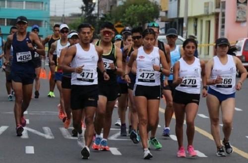 Kimberly García y César Rodríguez Campeones Nacionales de Marcha