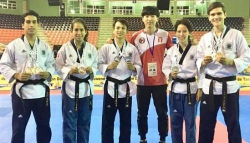 Selección peruana de Taekwondo logra medallas en República Dominicana