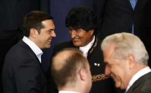 Grecia respalda el llamado del líder boliviano Evo Morales para el diálogo con Venezuela
