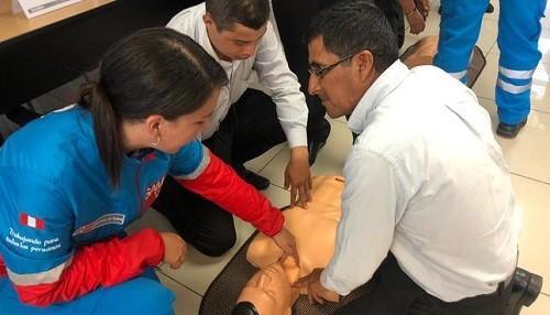 SAMU: más de 300 orientadores del metropolitano fueron capacitados en primeros auxilios