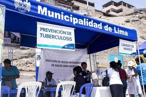 "Municipalidad de Lima promueve campaña ""Respira sano, sin TBC"""