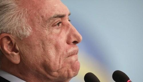 El ex presidente de Brasil, Michel Temer, fue arrestado por corrupción