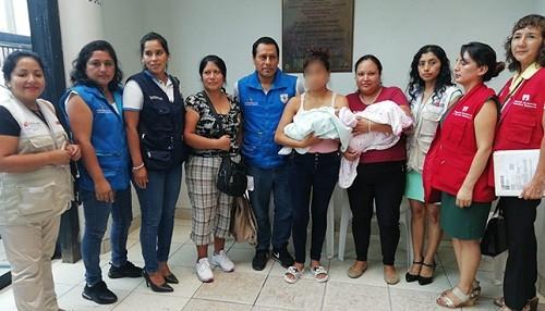 Minsa brinda soporte psicológico a madres de bebés cambiadas en el hospital de Barranca