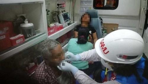 Ambulancias SAMU y brigadistas de salud mental brindaron atención a heridos de tragedia en exterminal de Fiori