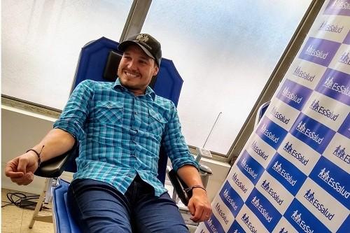 Alcalde George Forsyth se suma a reto #DonaChallenge que incentiva donación de sangre