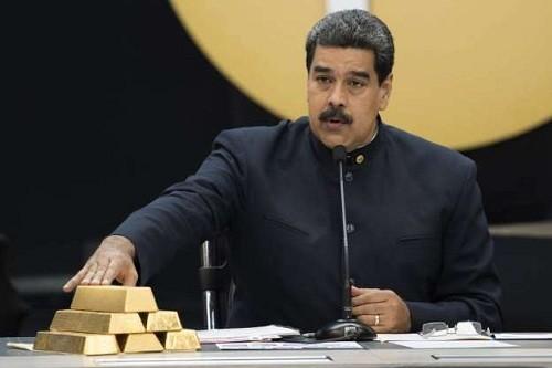 Venezuela extrajo ocho toneladas de oro de las bóvedas del Banco Central